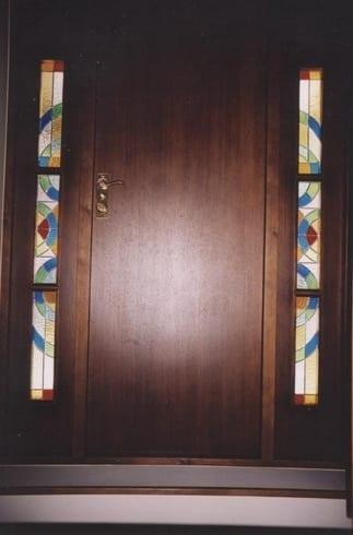 Vitraaz eramajale 2003- Tallinn, Eesti <br/> Stainglass work for a private house 2003 - Tallinn, Estonia