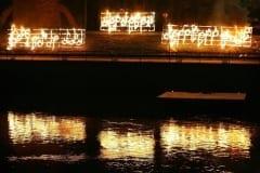 TULEINSTALLATSIOON Gaudeamuse laulupeo avamisel 2006 Tartu, Eesti  <br/>FIRE-INSTALLATION at the opening of songfestival Gaudeamus 2006 - Tartu, Estonia