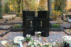 2019 Rektor P. Tulviste haud, Raadi kalmistu, Tartu