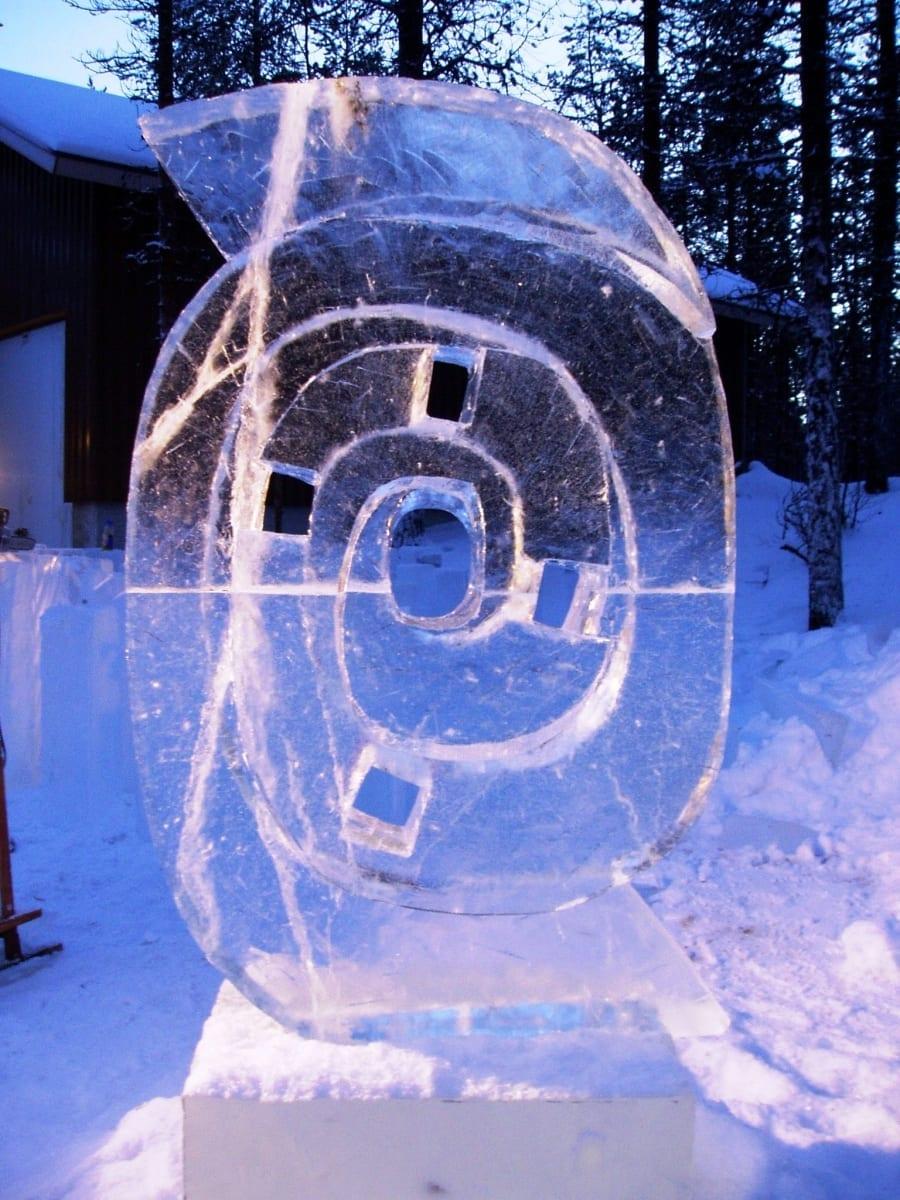 """""""SPIRAAL"""" 2004 Kakslauttanen, Lapimaa, Soome  <br/>""""SPIRAL"""" 2004 Kakslauttanen, Lapland, Finland"""