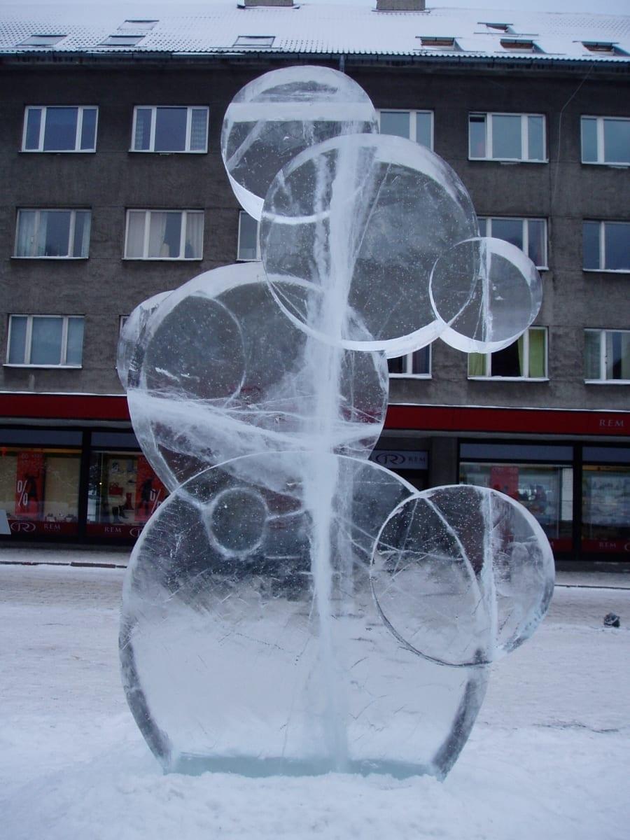 """""""VARIATSIOONID LUMEMEMME TEEMADEL"""" 2006 Tallinn, Eesti   <br/>""""VARIATIONS ON THE THEME SNOWMAN"""" 2006 Tallinn, Estonia"""