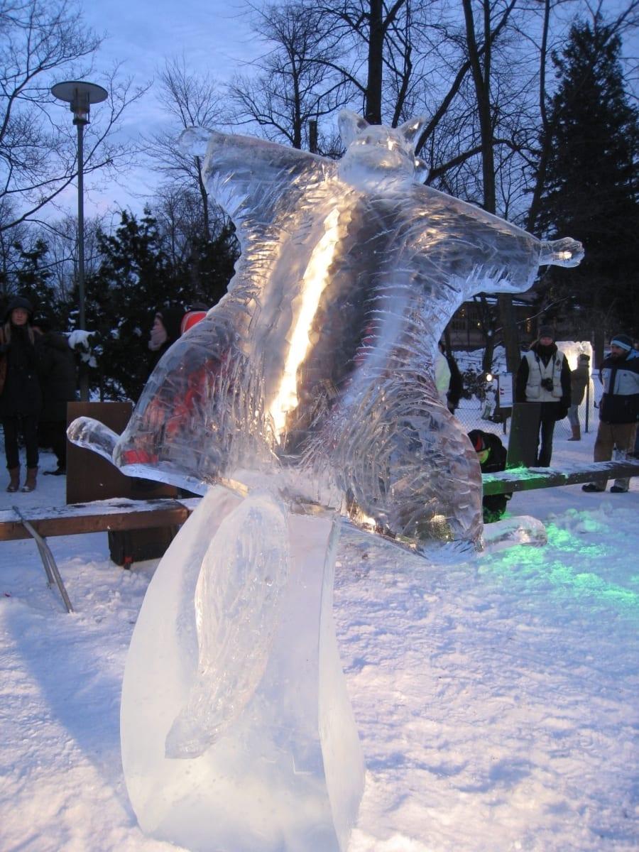 """LENDORAV"" 2009 h= 2,3 m Helsingi, Soome  <br/>""FLYING SQUIRREL"" 2009 h=2,3 m Helsinki, Finland"