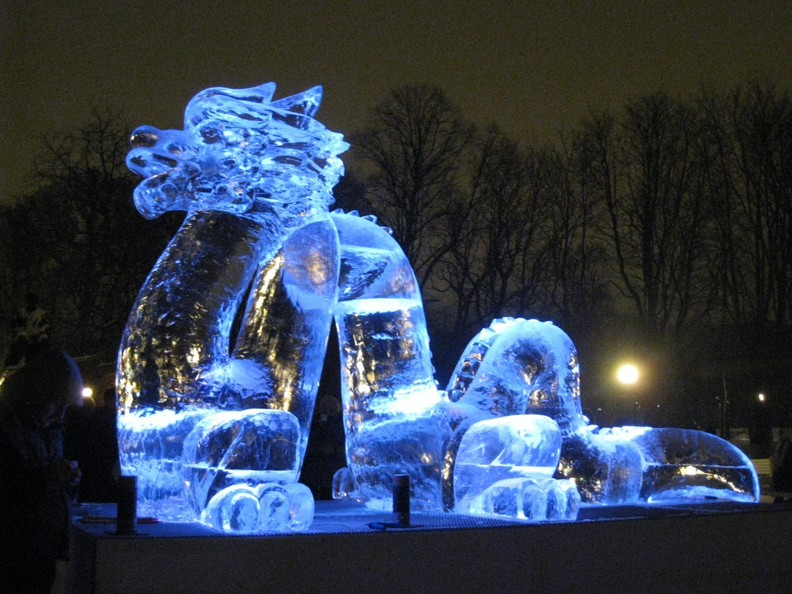 """""""VESIDRAAKON"""" 2012 p= 4 m Tallinn, Eesti  <br/>""""WATERDRAGON"""" 2012 l= 4 m Tallinn, Estonia"""