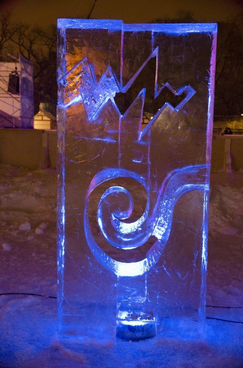 """""""KAKS JÕGE"""" 2013 h= 2 m Pärnu, Eesti  <br/>""""TWO RIVERS"""" 2013 h= 2 m Pärnu, Estonia"""