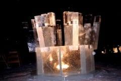 """""""LUMEHELBED"""" 1998 h= 3 m Pello, Soome (võistkonnatöö - I preemia)  <br/>""""SNOWFLAKES"""" 1998 h= 3 m Pello, Finland (teamwork - I prize)"""