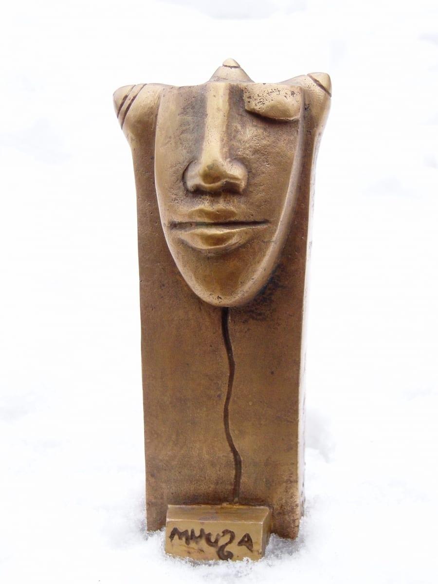 """MUUSA"" EV Kultuuriministeeriumile 1999 pronks <br/> ""THE MUSE"" for Estonian Ministery of Culture 1999 bronze"