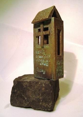 KOMMNAALMAJANDUSE ÜHINGU auhind 2008 pronks, graniit  <br/>An award of Eesti Kommunaalmajanduse Ühing 2008 bronze, granit