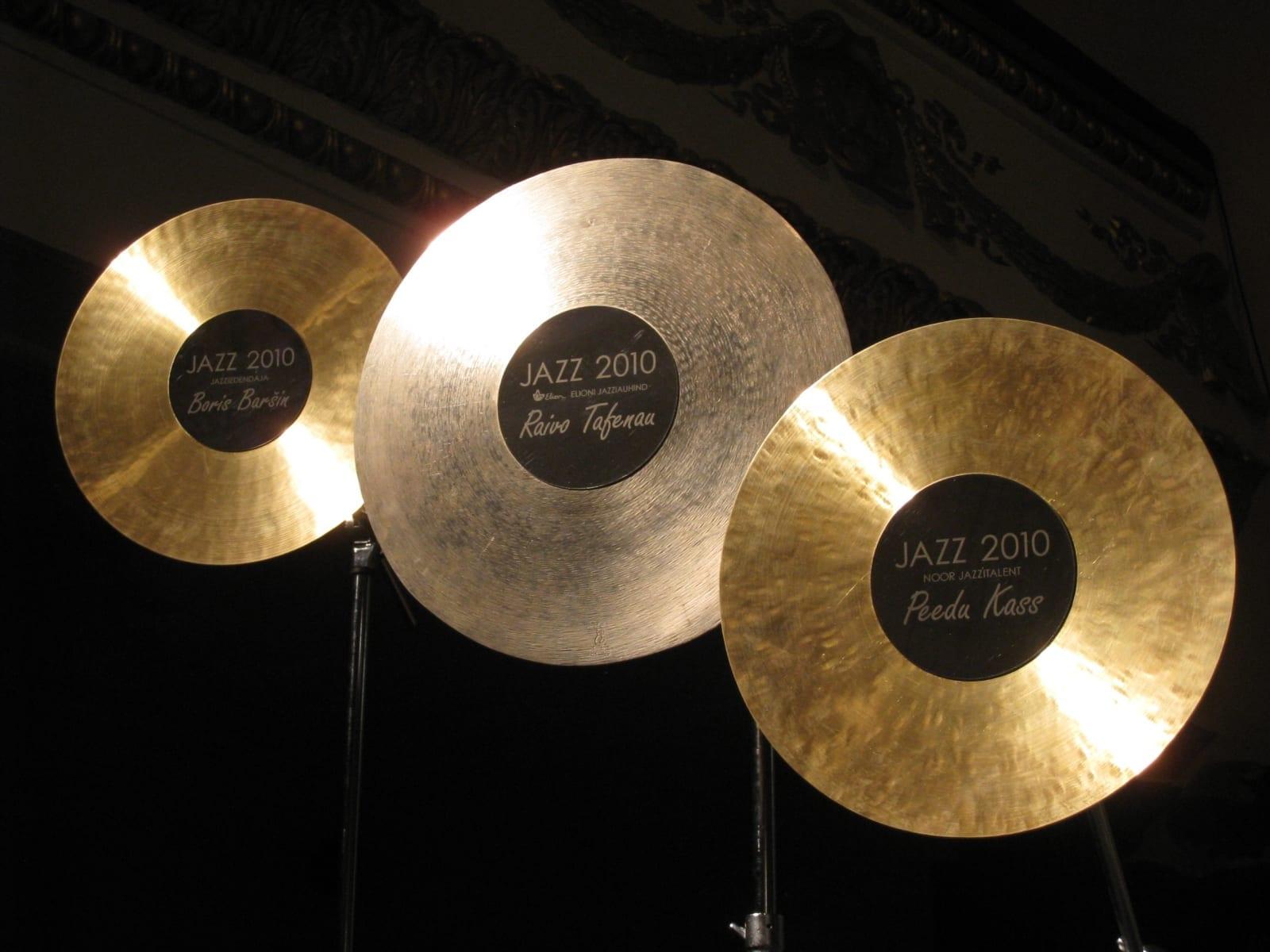ELIONI JAZZIAUHIND 2010 metall <br/> ELION JAZZAWARD 2010 metal