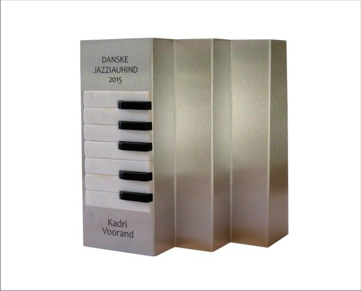 DANSKE JAZZIAUHIND 2015 akordioni klahvid, roostevaba teras  <br/>DANSKE JAZZAWARD 2015 stainless steel, accordion keys