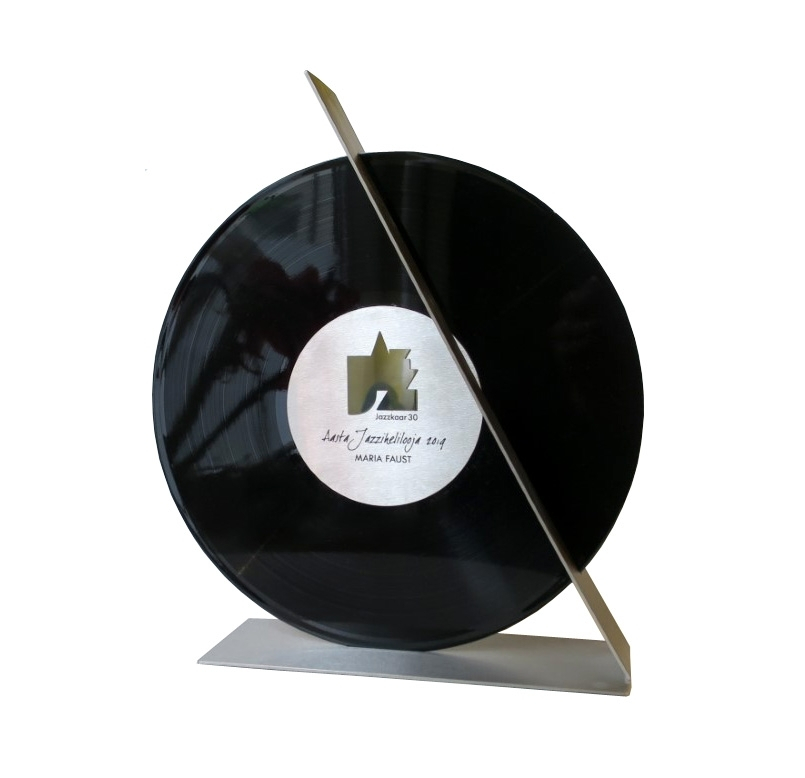Jazziauhind 2019 roostevaba teras, LP plaat <br/>Jazzaward 2019 stainless steel, LP disk