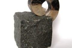Kingitus II 2012 kivi, puu  <br/>A gift II 2012 granit, wood