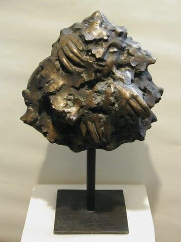 """PUU"" 1985 pronks  <br/>""TREE"" 1985 bronze"