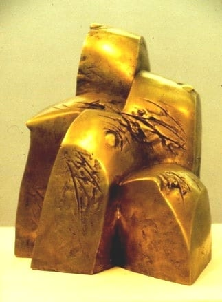 """""""MÄGINE"""" 1989 pronks  <br/>""""HILLY"""" 1989 bronze"""