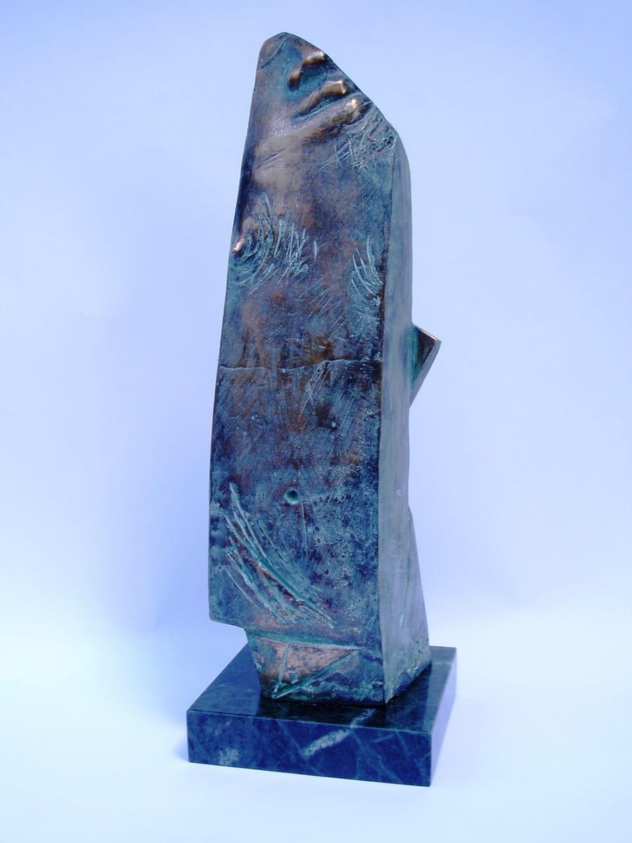 """VEIDI HÄBELIK"" 1991 pronks <br/>""A LITTE-BIT SHY"" 1991 bronze"