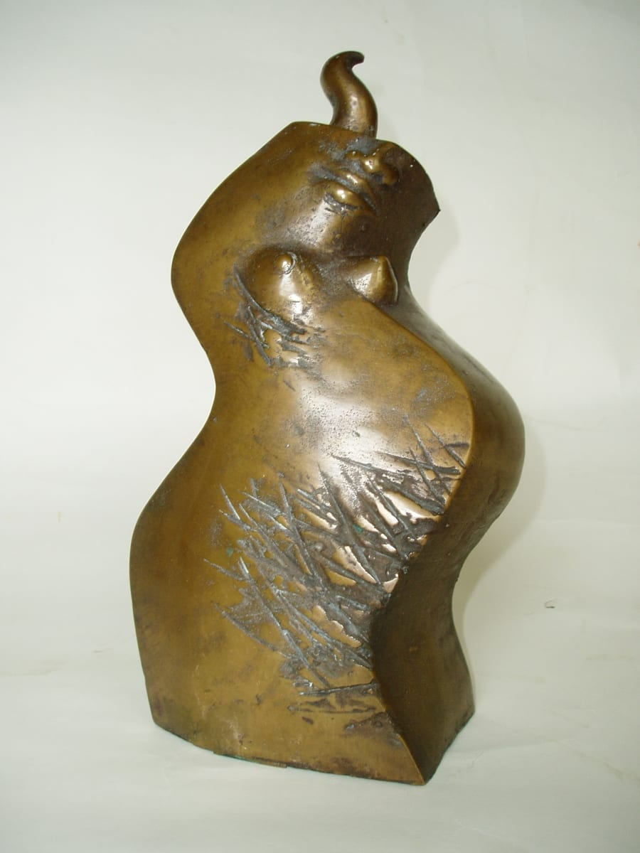 """USSIAASTA"" 1991 pronks  <br/>""The YEAR of SNAKE"" 1991 bronze"