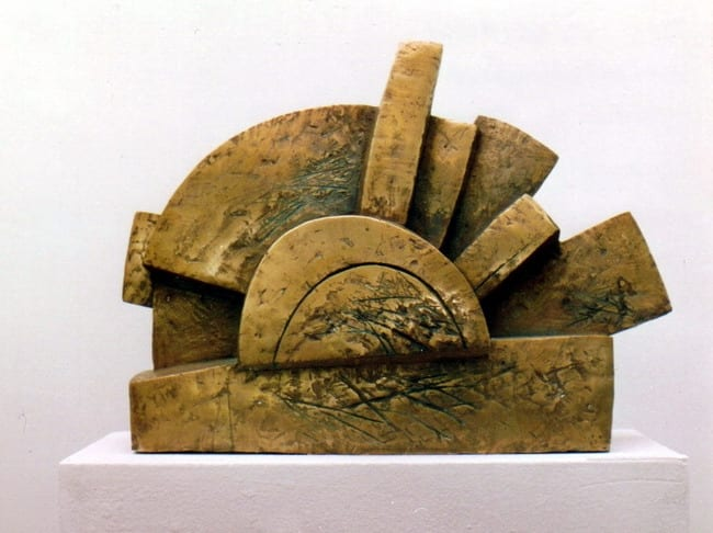 """PÄIKESEMÄNG"" 1992 pronks  <br/>""The PLAY of SUN"" 1992 bronze"