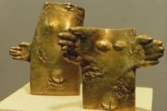 """""""LAHKUMINE"""" ja """"KOHTUMINE"""" 1989 pronks  <br/>""""PARTING"""" and """"MEETING"""" 1989 bronze"""