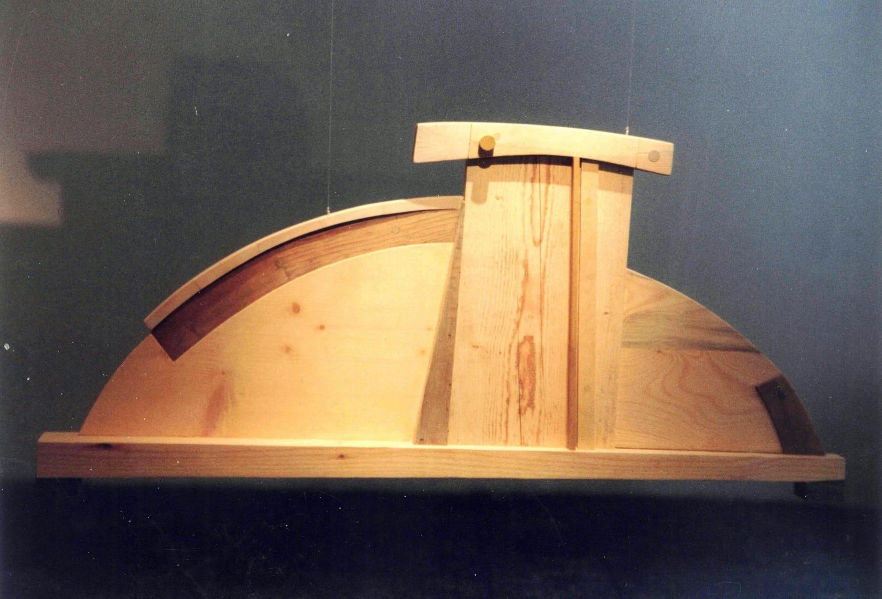 """""""NIMETU II"""" 1996 puu<br/> """"NAMELESS II 1996 wood"""