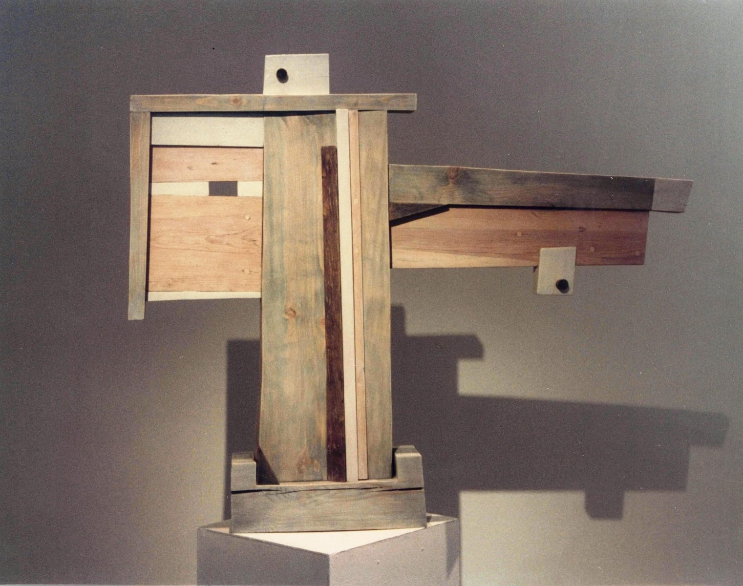 """""""NIMETU III"""" 1996 puu<br/> """"NAMELESS III 1996 wood"""