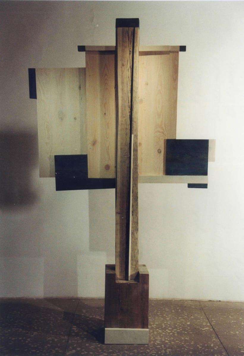 """NIMETU V"" 1996 puu <br/>""NAMELESS V 1996 wood"