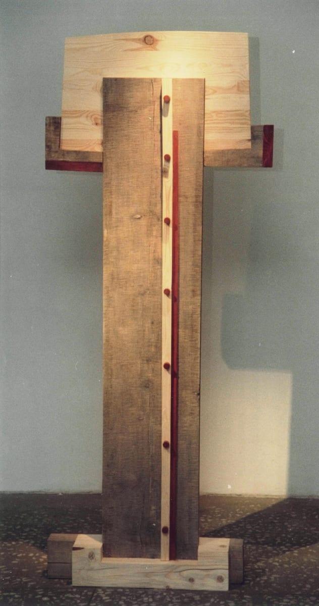 """""""NIMETU VII"""" 1996 puu <br/>""""NAMELESS VII 1996 wood"""