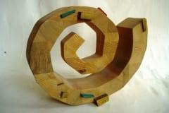 """ALGUS"" 1995 puu ""BEGINNING"" 1995 wood"