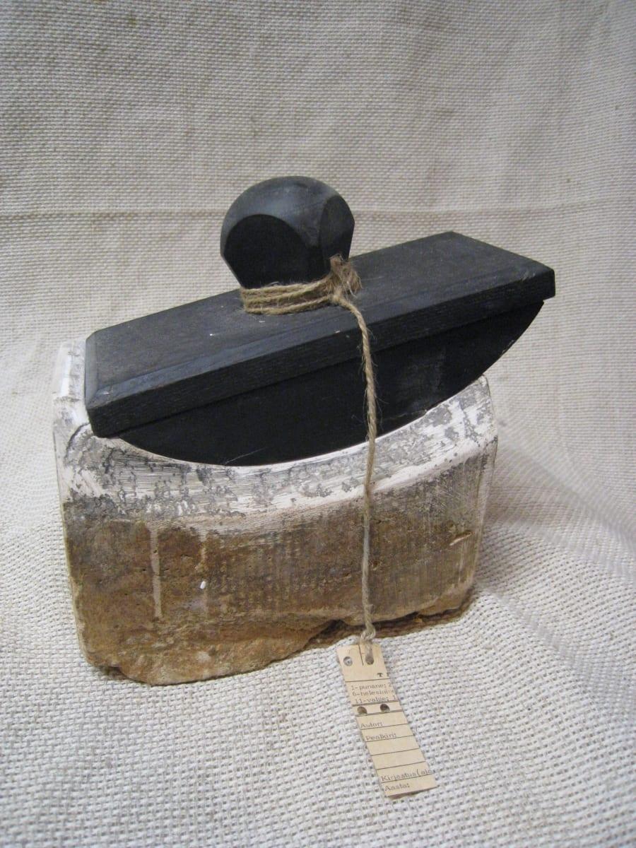 Kingitus 3  2008 kips,puit,nöör,paber<br/> A GIFT 3  2008 plaster,wood,string,paper