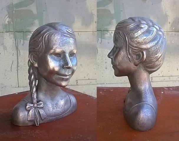 EMMA portree 2015 pronks<br/> EMMA 2015 bronze