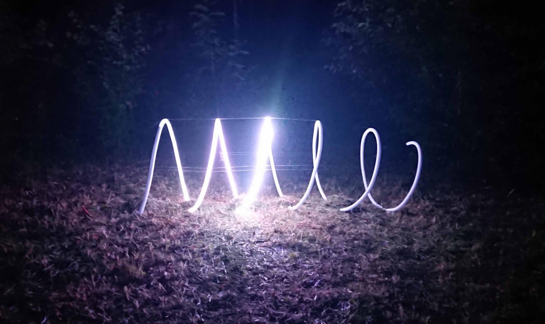 """"""" Kulg"""" 2020 valgusinstallatsioon (koos K.Tiismaga)<br/>""""Course"""" 2020 a light installation (with K.Tiisma)"""