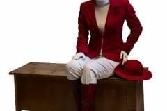 """""""PINGINAABRIST KOOLITAJA: MARJU UNT"""" 2017 elusuuruses figuraalne installatsioon: kips,plastik,tekstiil,puit jm <br/>""""DESKMATE and EDUCATOR: MARJU UNT"""" lifesize figurative installation: plaster, textile,plastic,wood etc"""