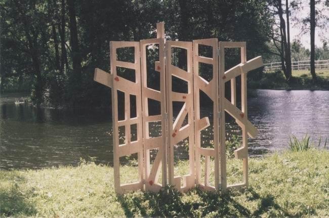 """""""VAATED"""" 2000 puu - puuskulptuuri sümpoosion Sagadi, Eesti<br/> """"VIEWS"""" 2000 wood - wood carving symposium in Sagadi, Estonia"""