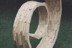 """""""ALGUS"""" 1994 puu - puuskulptuuri sümpoosion Võru, Eesti <br/> """"BEGINNING"""" 1994 wood - wood carving symposium in Võru, Estonia"""